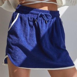Urban Outfitters x BDG Mini Terry Skirt